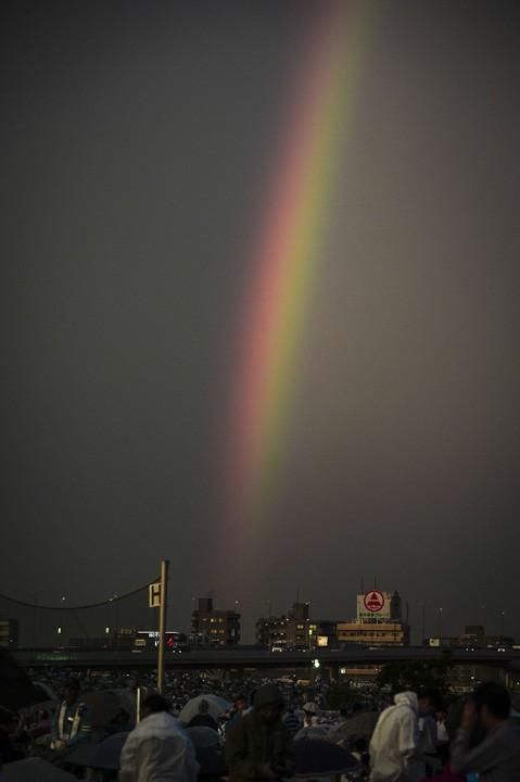足立花火虹