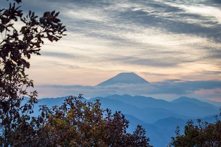 陣馬山 富士山