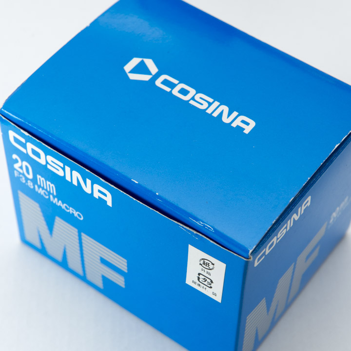 cosina 20mm f3.8