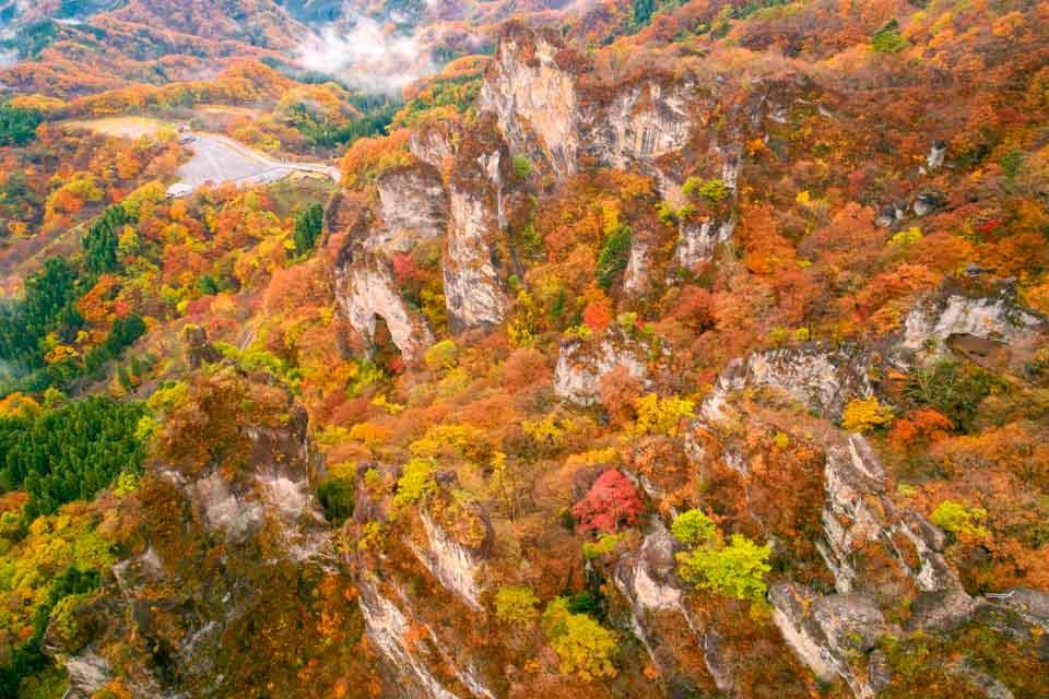 妙義山の紅葉